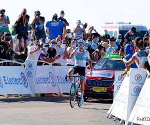 """Alexey Lutsenko na ritwinst: """"Hier droomt iedere renner van"""""""