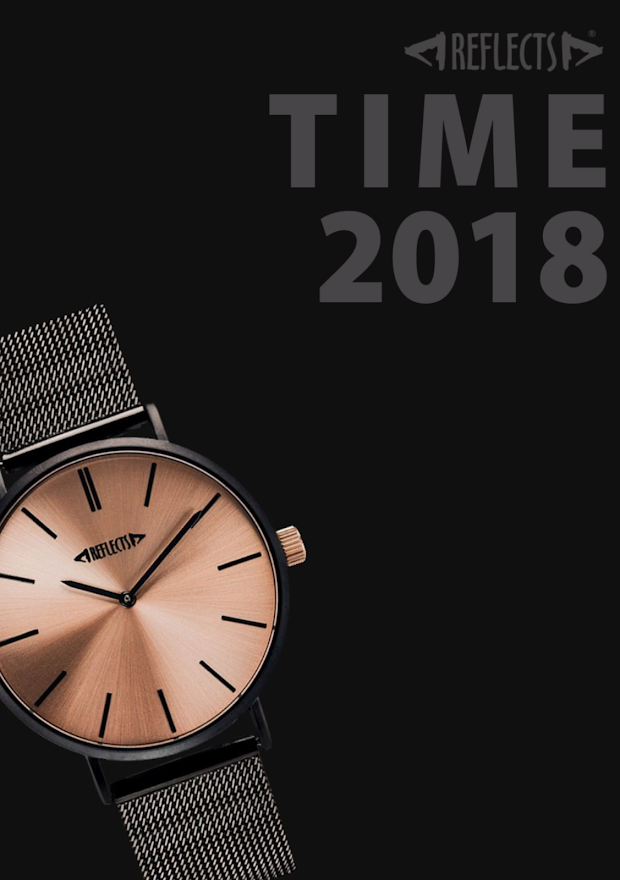 Catalogue montre time reflects 2018