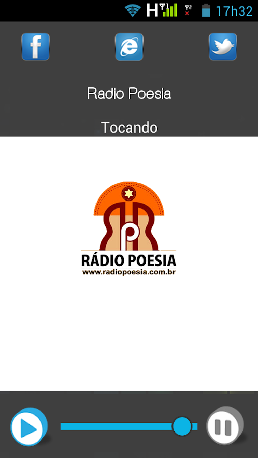 Radio Poesia- screenshot