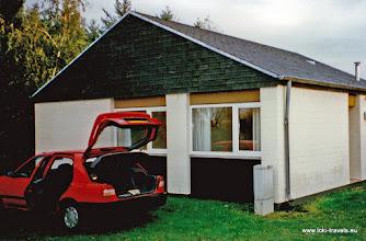 Photo: Leiwen. Sonnenberg. Onze bungalow.