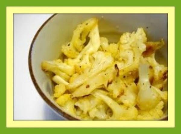 Roasted Cauliflower W/lemon & Garlic (vegetarian) Recipe