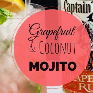 Grapefruit and Coconut Mojito