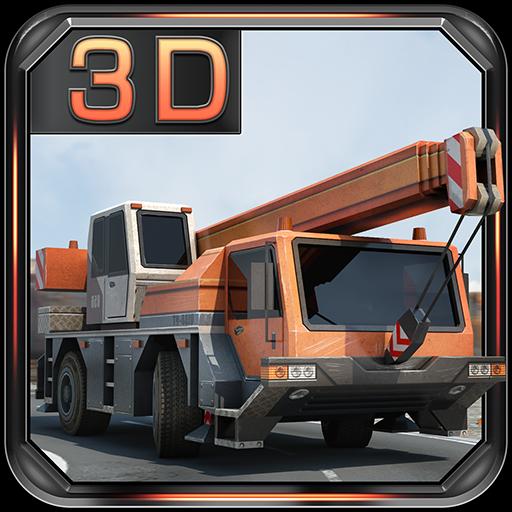 策略の建機クレーン駐車場 LOGO-記事Game