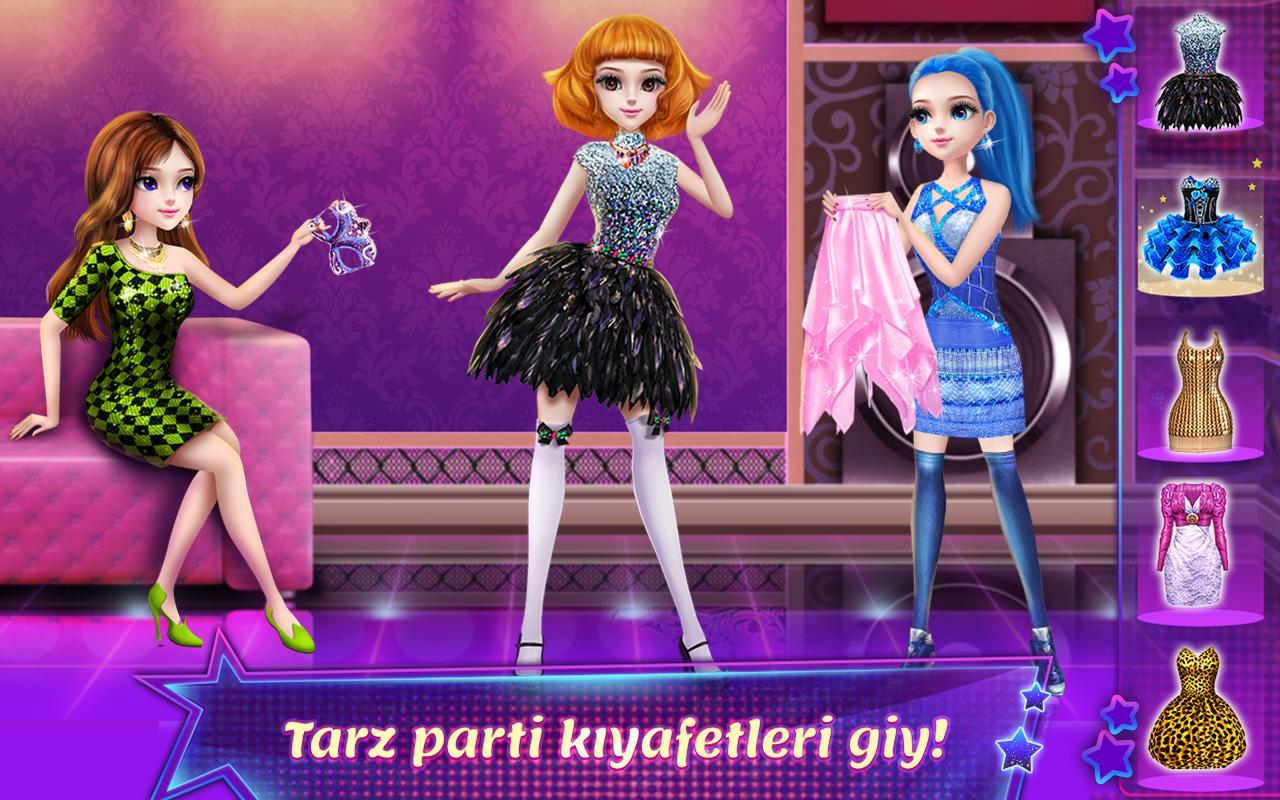Giydirme oyunu indir android uygulamalar k z giydirme oyunu - Coco Parti Dans Krali Eleri Ekran G R Nt S