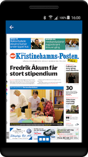 Nya Kristineh-Posten e-tidning - náhled
