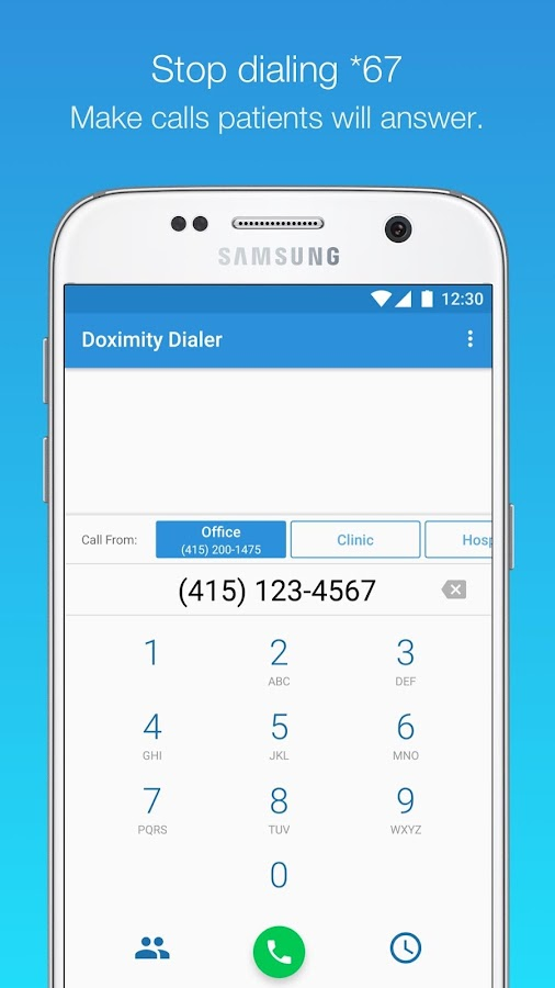Doximity Dialer- screenshot