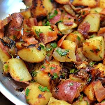 Easy Skillet German Potato Salad