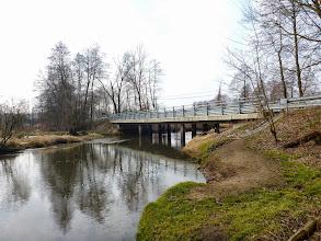 Photo: 25,5 km Budy Grabskie, most przy Ośrodku, zaczyna się długi, uciążliwy odcinek rzeki bez możliwości dogodnego zakończenia spływu