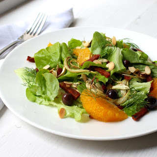 Chorizo, Fennel and Orange Salad