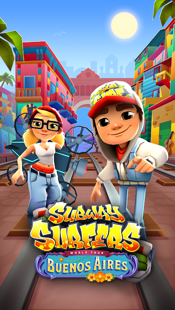 Subway Surfers Android App Screenshot