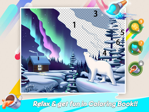 Home Paint: Color by Number & My Dream Home Design android2mod screenshots 17