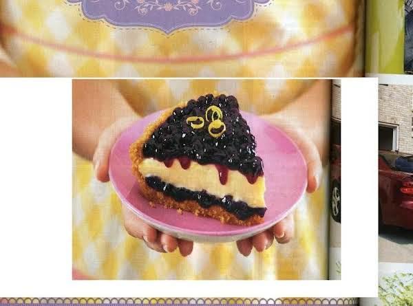 Lemon Blueberry Layered Pie Recipe