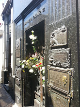 Photo: Here lies Evita Peron, I did not cry for her.