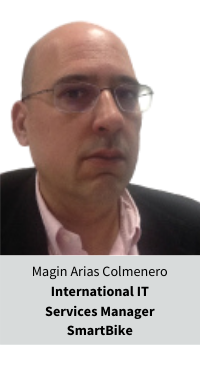 Magin Arias Colmenero International IT Services Manager SmartBike