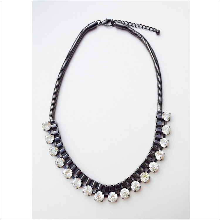N029 - B. Swagger Magic Crystal Necklace