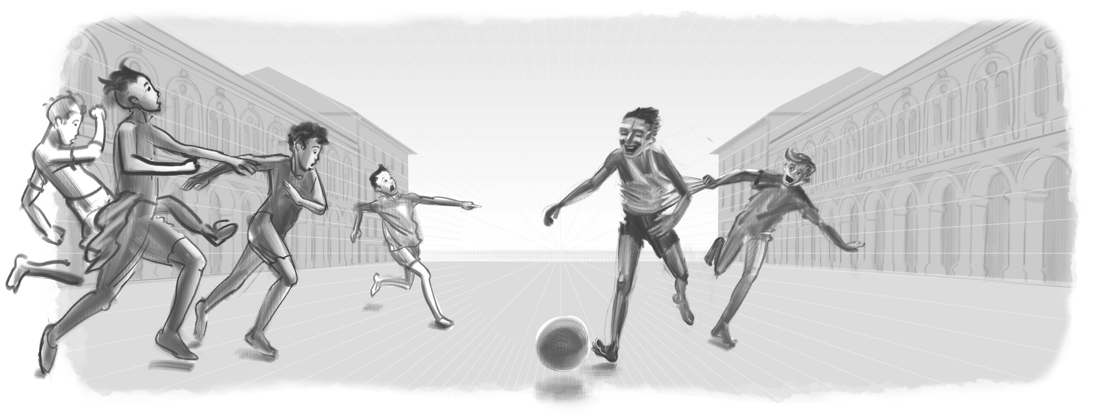 Croatia World Cup Doodle Sketch