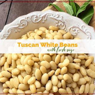 Tuscan White Beans with Fresh Sage Recipe