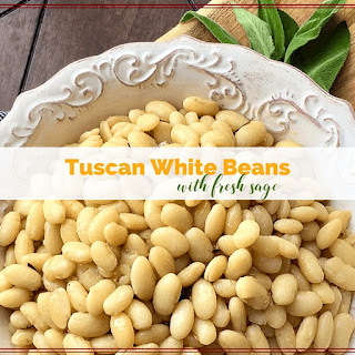 Tuscan White Beans with Fresh Sage.