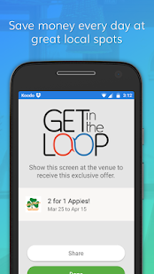 Get in the Loop - Local Deals- screenshot thumbnail