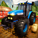 Real Tractor Driving Game 2020 - Farming Simulator icon