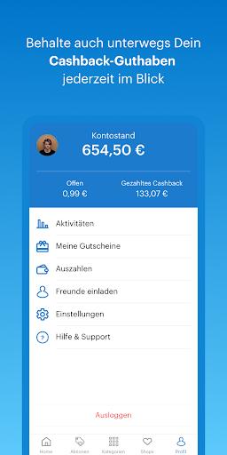 Shoop.de – Cashback & Gutscheine screenshot