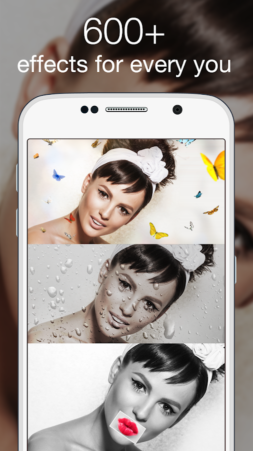 Photo Lab Picture Editor: face effects, art frames- screenshot