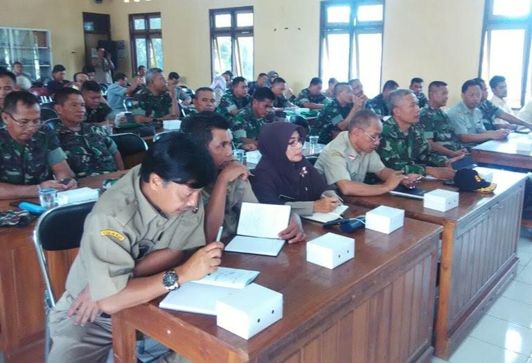 Kodim 0805 Ngawi menggelar acara Sosialisasi Serapan Gabah Petani (Sergap)