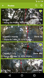 CLIMBOS - world climbing topo screenshot 2