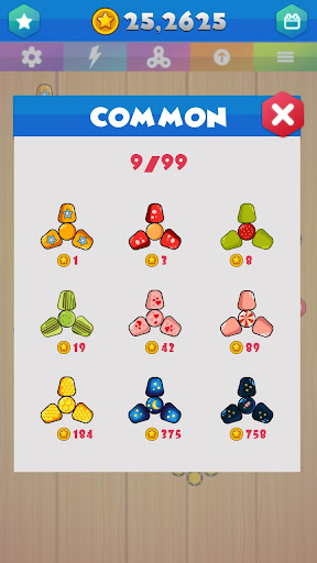 Fidget Spinner Merger - Fidget Evolution 1.1.2 screenshots 1