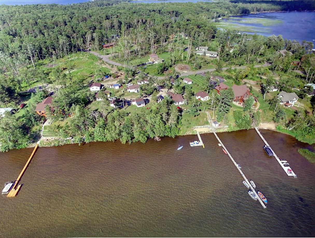 Sebago Resort drone 3