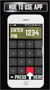 Calculator Plus Gallery Vault Photo Video Locker - náhled