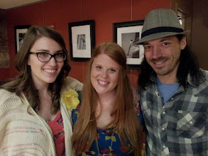 Photo: Post show pic with Danielle Ate The Sandwich and Heather Mae. Awesome night @ Ebenezers in Washington DC.
