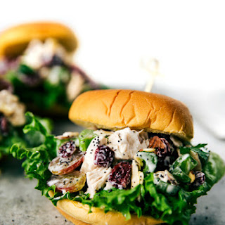 Low Calorie Chicken Salad Sandwiches