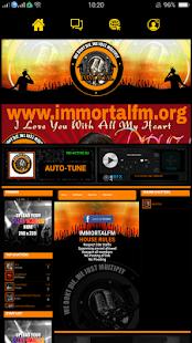 immortalfm - náhled