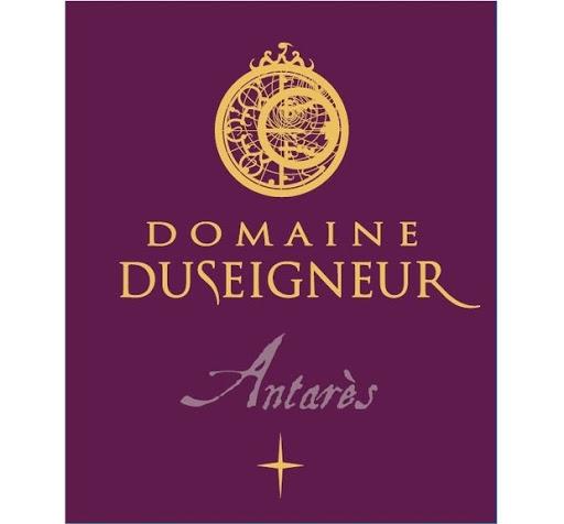 Etiquette Antares vin rouge Domaine Duseigneur
