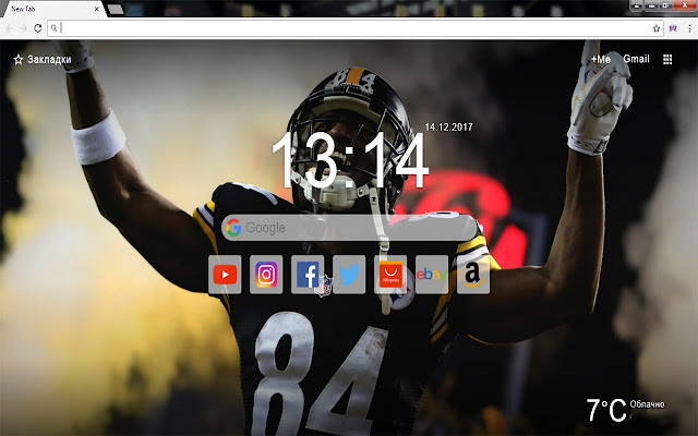 NFL Champions New Tab Wallpapers Themes HD