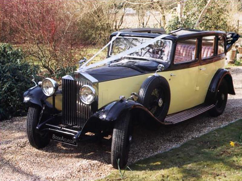 Rolls Royce Cabriolet Hire Hampshire