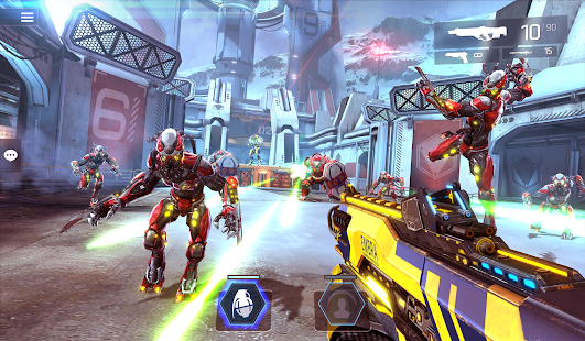 SHADOWGUN LEGENDS - FPS PvP and Coop Shooting Game apk