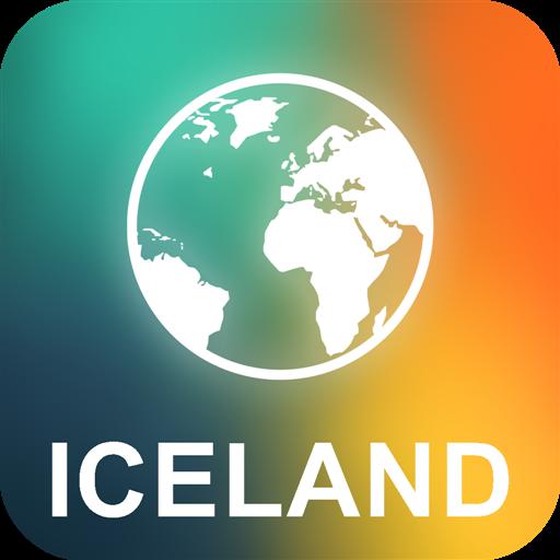 冰岛 离线地图 旅遊 App LOGO-硬是要APP