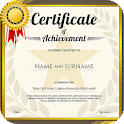 Certificate Maker: Templates and Design Ideas icon