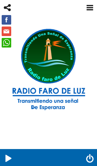 Radio Faro de Luz- screenshot
