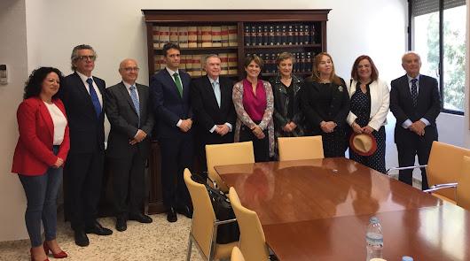 Delgado se reúne con operadores jurídicos con el aval de los nuevos juzgados