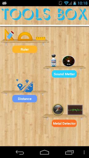 距離測定器 : Tools Box