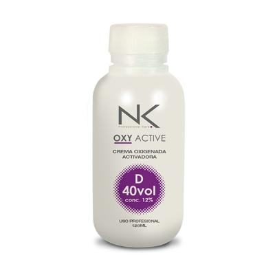agua oxigenada nk oxy active 40vol 120ml
