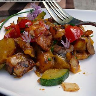 Sausage & Potato Skillet Supreme