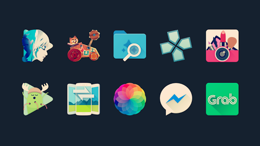 Halo - Free Icon Pack 8.5 screenshots 1