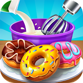 Donut Shop - Kids Cooking Game