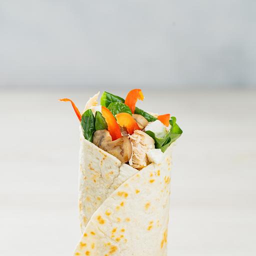 Chicken & Spinach Goat Cheese Wrap