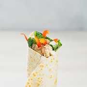 Chicken & Spinach Goat Cheese Wrap