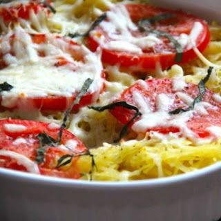 Spaghetti Squash With Tomato And Basil Recipes